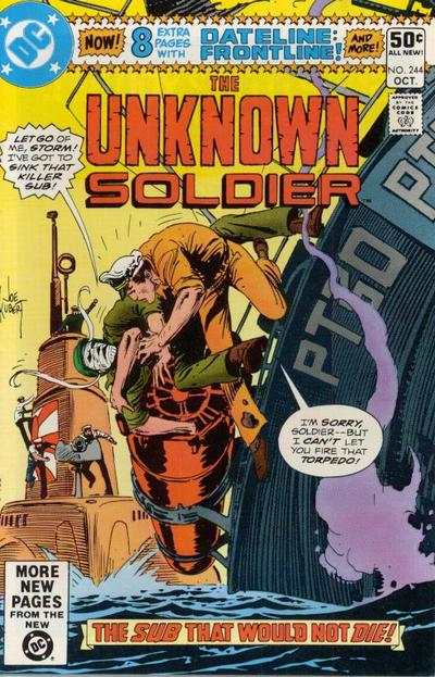 Unknown Soldier #244 comic books - cover scans photos Unknown Soldier #244 comic books - covers, picture gallery