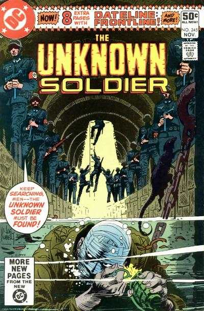 Unknown Soldier #245 comic books for sale