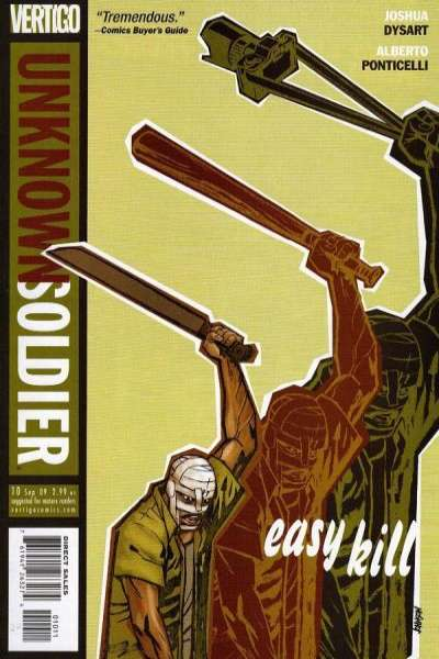 Unknown Soldier #10 comic books for sale