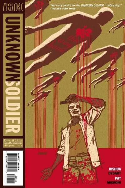 Unknown Soldier #13 comic books - cover scans photos Unknown Soldier #13 comic books - covers, picture gallery