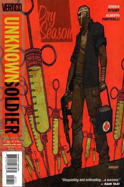 Unknown Soldier #17 comic books - cover scans photos Unknown Soldier #17 comic books - covers, picture gallery