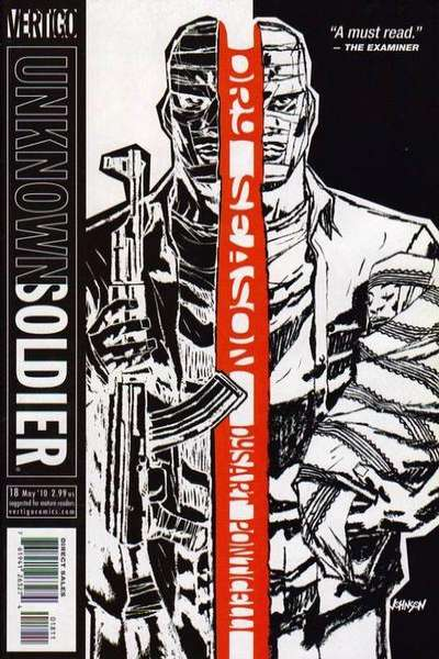 Unknown Soldier #18 comic books for sale
