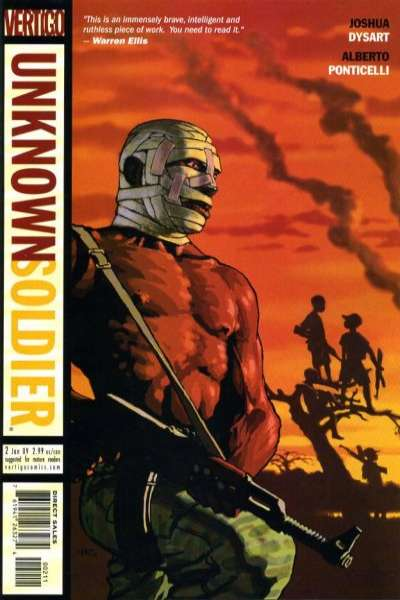 Unknown Soldier #2 comic books - cover scans photos Unknown Soldier #2 comic books - covers, picture gallery