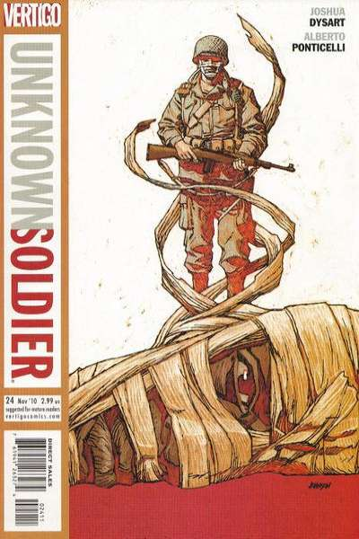 Unknown Soldier #24 comic books for sale