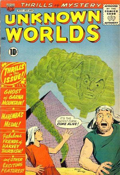 Unknown Worlds #11 comic books for sale