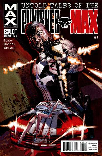 Untold Tales of Punisher Max comic books