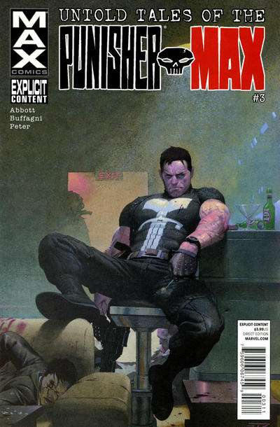 Untold Tales of Punisher Max #3 comic books for sale