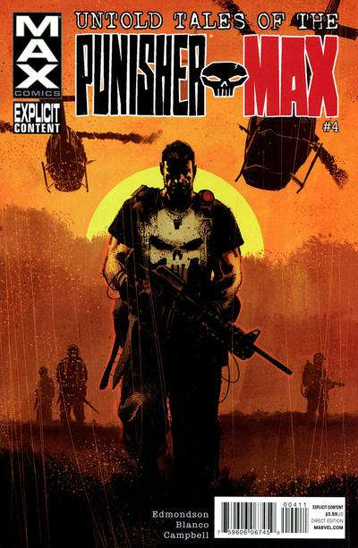 Untold Tales of Punisher Max #4 comic books for sale