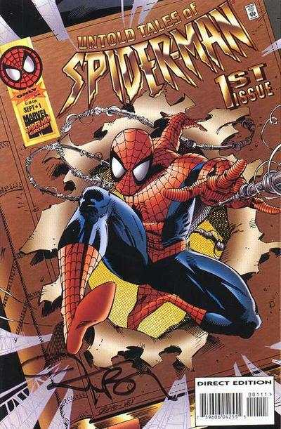 Untold Tales of Spider-Man #1 comic books - cover scans photos Untold Tales of Spider-Man #1 comic books - covers, picture gallery