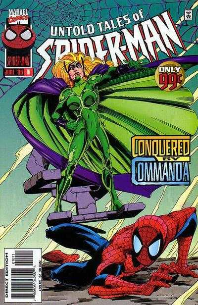 Untold Tales of Spider-Man #10 Comic Books - Covers, Scans, Photos  in Untold Tales of Spider-Man Comic Books - Covers, Scans, Gallery