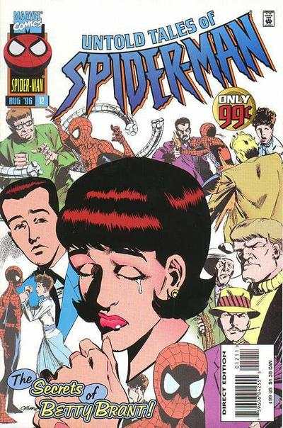 Untold Tales of Spider-Man #12 Comic Books - Covers, Scans, Photos  in Untold Tales of Spider-Man Comic Books - Covers, Scans, Gallery