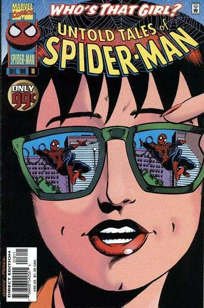 Untold Tales of Spider-Man #16 comic books - cover scans photos Untold Tales of Spider-Man #16 comic books - covers, picture gallery