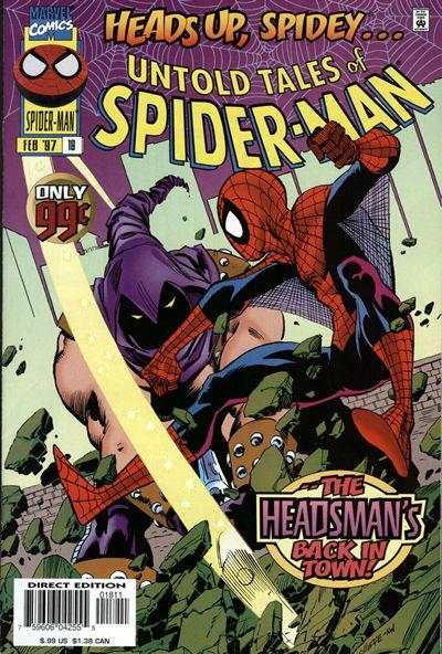 Untold Tales of Spider-Man #18 comic books for sale