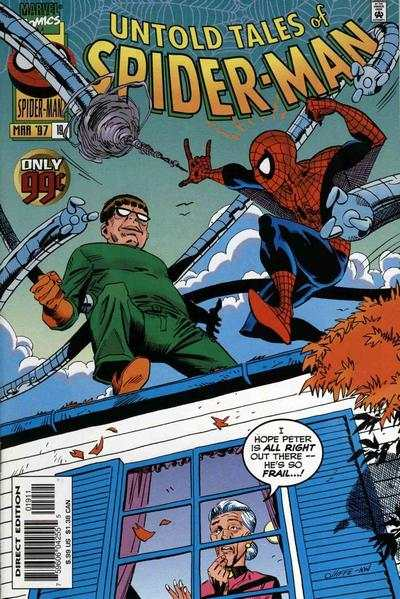 Untold Tales of Spider-Man #19 comic books - cover scans photos Untold Tales of Spider-Man #19 comic books - covers, picture gallery