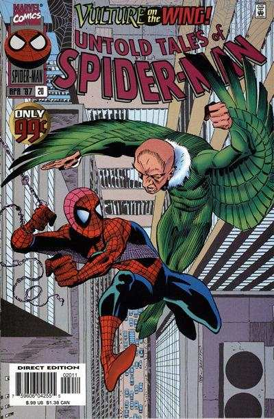 Untold Tales of Spider-Man #20 comic books - cover scans photos Untold Tales of Spider-Man #20 comic books - covers, picture gallery