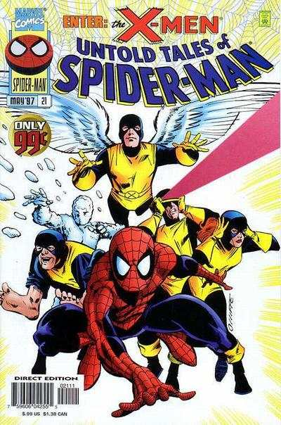 Untold Tales of Spider-Man #21 comic books - cover scans photos Untold Tales of Spider-Man #21 comic books - covers, picture gallery