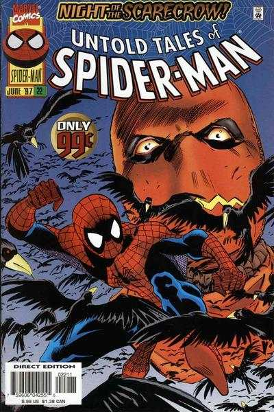 Untold Tales of Spider-Man #22 comic books - cover scans photos Untold Tales of Spider-Man #22 comic books - covers, picture gallery