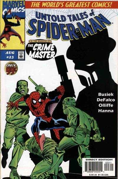 Untold Tales of Spider-Man #23 Comic Books - Covers, Scans, Photos  in Untold Tales of Spider-Man Comic Books - Covers, Scans, Gallery