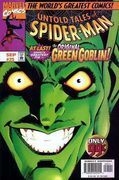 Untold Tales of Spider-Man #25 Comic Books - Covers, Scans, Photos  in Untold Tales of Spider-Man Comic Books - Covers, Scans, Gallery