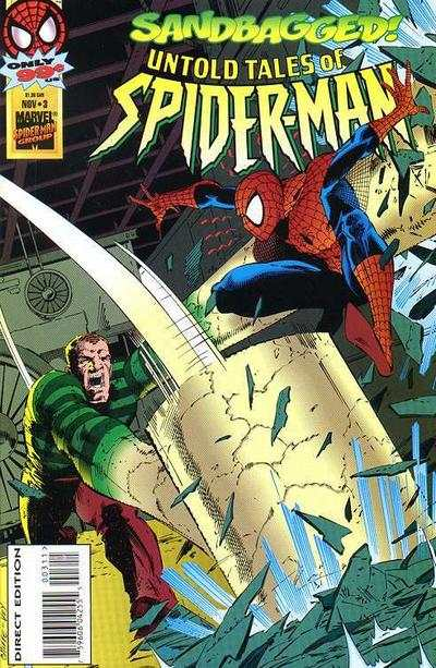 Untold Tales of Spider-Man #3 comic books - cover scans photos Untold Tales of Spider-Man #3 comic books - covers, picture gallery