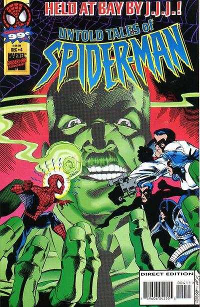 Untold Tales of Spider-Man #4 comic books - cover scans photos Untold Tales of Spider-Man #4 comic books - covers, picture gallery