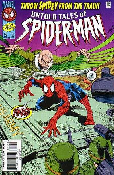 Untold Tales of Spider-Man #5 comic books - cover scans photos Untold Tales of Spider-Man #5 comic books - covers, picture gallery