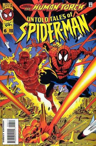 Untold Tales of Spider-Man #6 comic books - cover scans photos Untold Tales of Spider-Man #6 comic books - covers, picture gallery