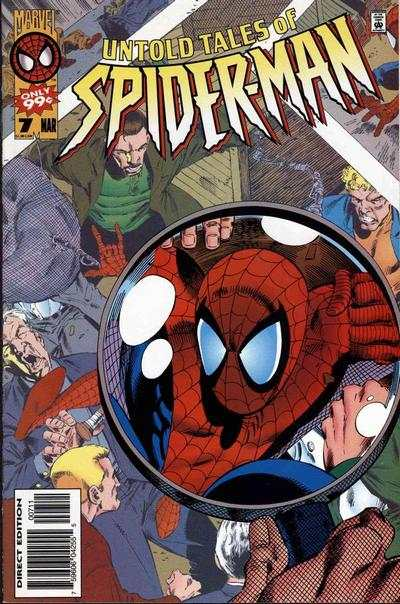 Untold Tales of Spider-Man #7 Comic Books - Covers, Scans, Photos  in Untold Tales of Spider-Man Comic Books - Covers, Scans, Gallery