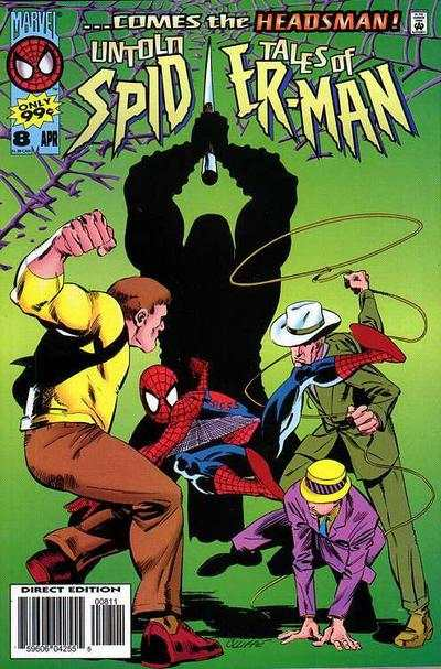Untold Tales of Spider-Man #8 comic books - cover scans photos Untold Tales of Spider-Man #8 comic books - covers, picture gallery