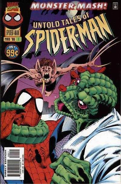 Untold Tales of Spider-Man #9 comic books - cover scans photos Untold Tales of Spider-Man #9 comic books - covers, picture gallery