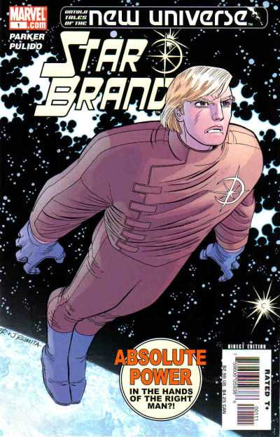 Untold Tales of the New Universe: Star Brand #1 Comic Books - Covers, Scans, Photos  in Untold Tales of the New Universe: Star Brand Comic Books - Covers, Scans, Gallery