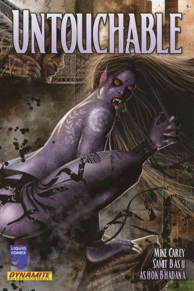 Untouchable #1 comic books - cover scans photos Untouchable #1 comic books - covers, picture gallery