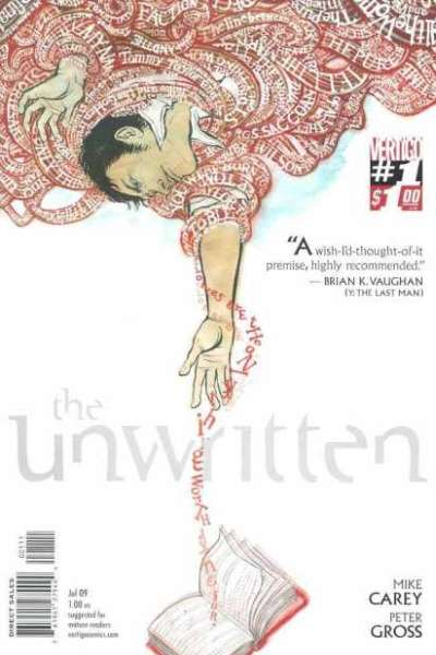 Unwritten #1 comic books - cover scans photos Unwritten #1 comic books - covers, picture gallery