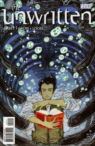 Unwritten #19 Comic Books - Covers, Scans, Photos  in Unwritten Comic Books - Covers, Scans, Gallery