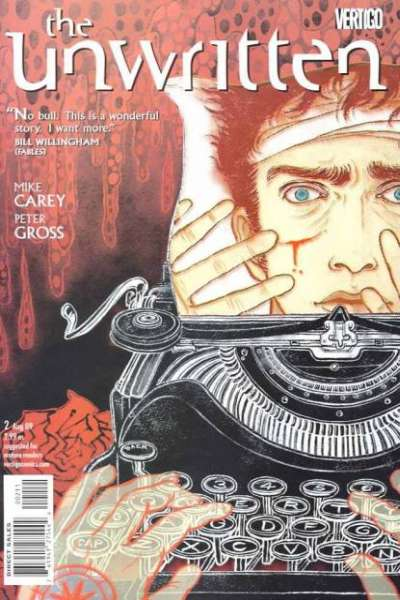 Unwritten #2 Comic Books - Covers, Scans, Photos  in Unwritten Comic Books - Covers, Scans, Gallery