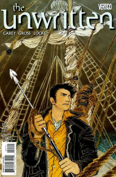 Unwritten #21 Comic Books - Covers, Scans, Photos  in Unwritten Comic Books - Covers, Scans, Gallery