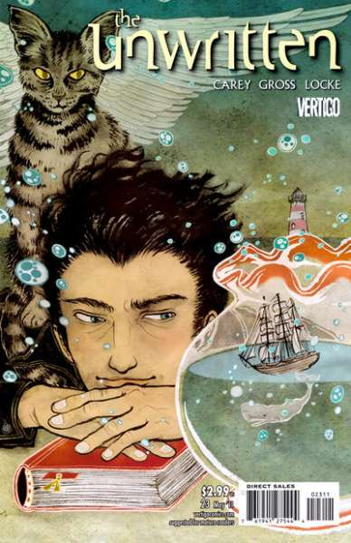 Unwritten #23 Comic Books - Covers, Scans, Photos  in Unwritten Comic Books - Covers, Scans, Gallery