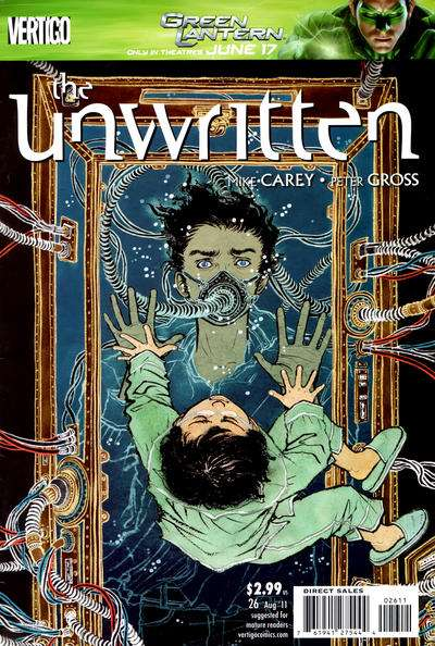 Unwritten #26 comic books - cover scans photos Unwritten #26 comic books - covers, picture gallery