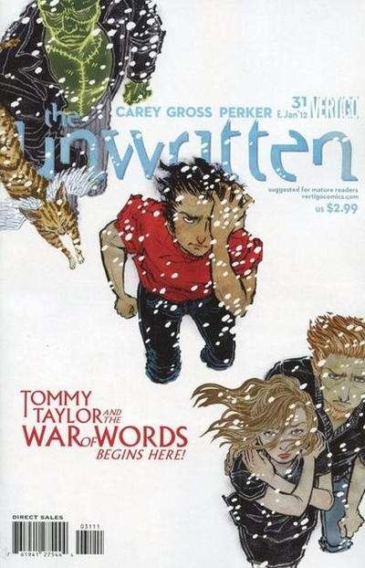 Unwritten #31 Comic Books - Covers, Scans, Photos  in Unwritten Comic Books - Covers, Scans, Gallery