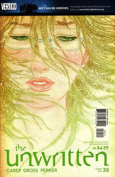 Unwritten #35 comic books for sale