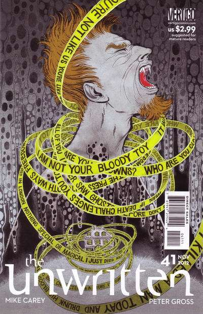 Unwritten #41 comic books for sale