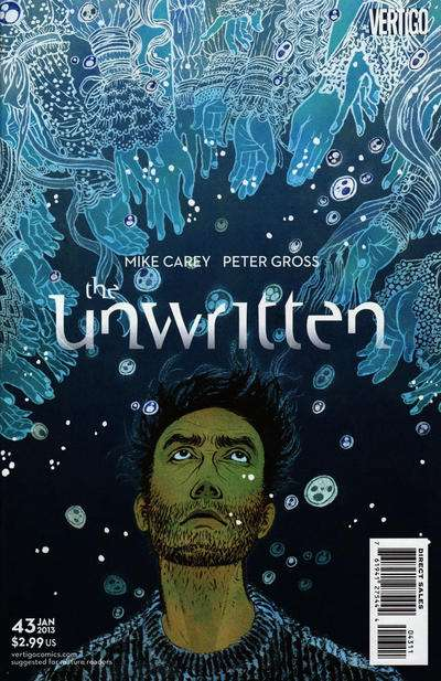 Unwritten #43 comic books for sale