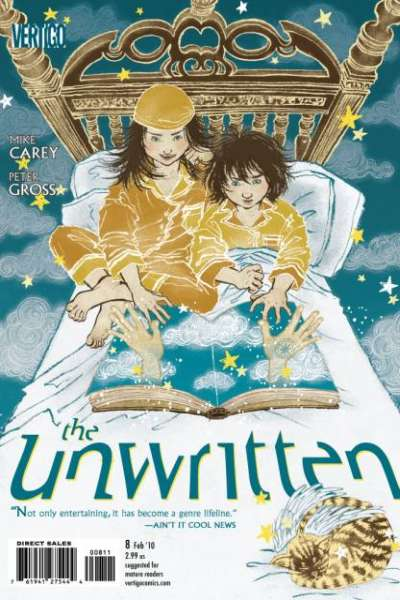 Unwritten #8 comic books - cover scans photos Unwritten #8 comic books - covers, picture gallery