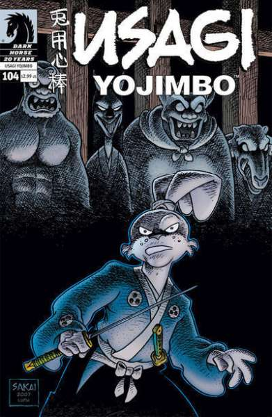 Usagi Yojimbo #104 comic books for sale
