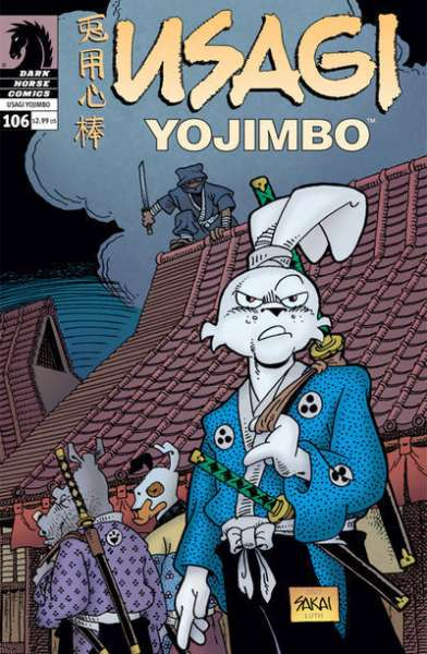 Usagi Yojimbo #106 Comic Books - Covers, Scans, Photos  in Usagi Yojimbo Comic Books - Covers, Scans, Gallery