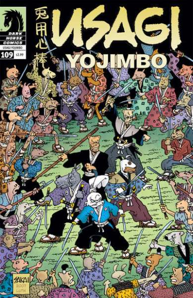 Usagi Yojimbo #109 Comic Books - Covers, Scans, Photos  in Usagi Yojimbo Comic Books - Covers, Scans, Gallery