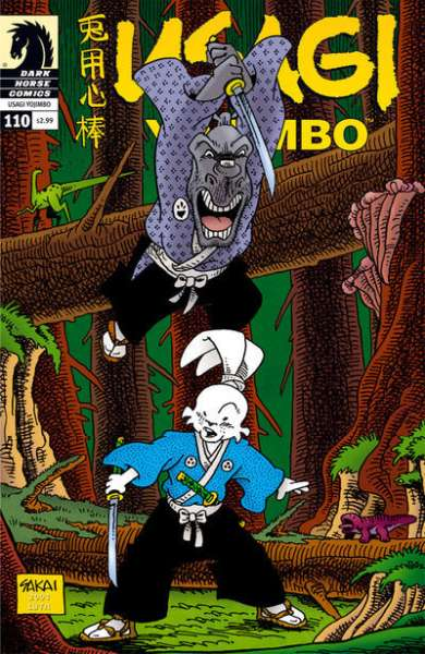 Usagi Yojimbo #110 Comic Books - Covers, Scans, Photos  in Usagi Yojimbo Comic Books - Covers, Scans, Gallery
