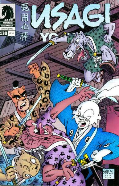 Usagi Yojimbo #130 Comic Books - Covers, Scans, Photos  in Usagi Yojimbo Comic Books - Covers, Scans, Gallery