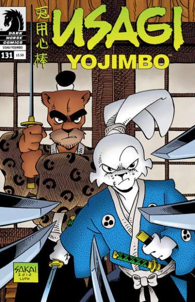 Usagi Yojimbo #131 Comic Books - Covers, Scans, Photos  in Usagi Yojimbo Comic Books - Covers, Scans, Gallery