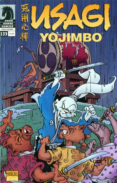 Usagi Yojimbo #133 Comic Books - Covers, Scans, Photos  in Usagi Yojimbo Comic Books - Covers, Scans, Gallery